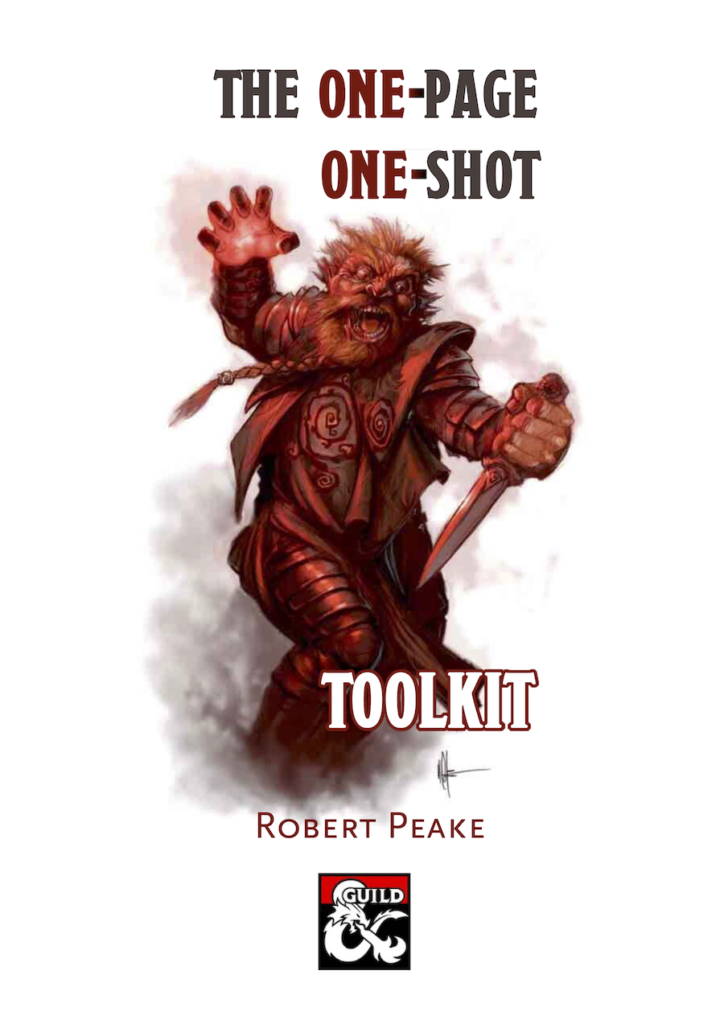 The One-Page One-Shot Toolkit