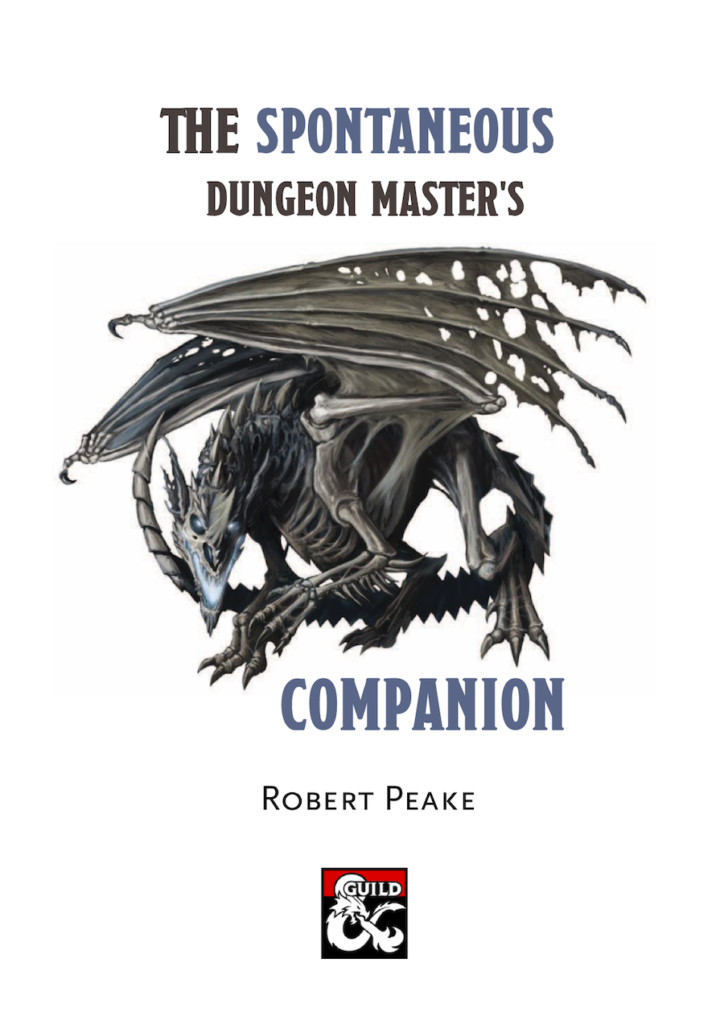 The Spontaneous Dungeon Master's Companion